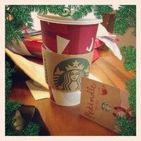 Photo taken at Starbucks Coffee by Zhanina C. on 11/6/2012