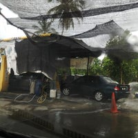 Photo taken at Sentral Car Wash by Ms Xette S. on 6/27/2014