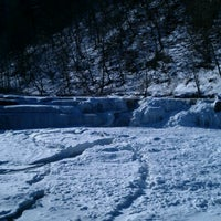 Photo taken at Taughannock Falls State Park by Rachel on 1/27/2013