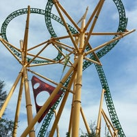 Photo taken at Busch Gardens Tampa by Gleidson M. on 9/24/2012