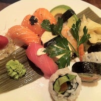 Photo taken at Dragon Sushi by Mikael R. on 10/21/2012