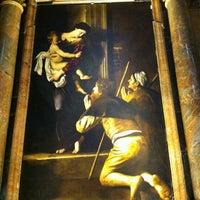 Photo taken at Basilica di Sant'Agostino in Campo Marzio by Duso on 5/24/2013