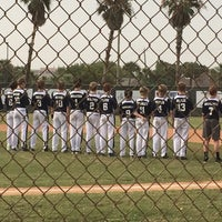Photo taken at Buccaneer baseball field by Gg T. on 6/29/2015