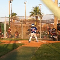 Photo taken at Buccaneer baseball field by Gg T. on 6/18/2013
