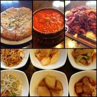 Photo taken at Hosoonyi Korean Restaurant by Autumn on 6/20/2013