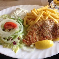 """Photo taken at """"Der Grieche"""" Grill Imbiss by Thomas B. on 11/22/2013"""