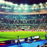 Photo taken at Stade de France by Alexandre J. on 3/26/2013
