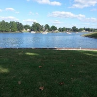 Photo taken at Holiday Shores Lake by Me®edith ✿. on 9/2/2013