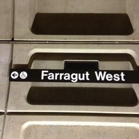 Photo taken at Farragut West Metro Station by Harjit on 4/21/2013