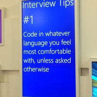 Photo taken at Microsoft Recruiting HQ by Maggie C. on 2/6/2015