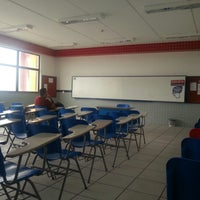 Photo taken at UNIVERSO - Universidade Salgado de Oliveira by Diego R. on 11/17/2012