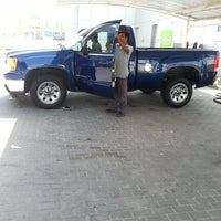 Photo taken at Oula staition & car wash by Saad A. on 6/20/2014