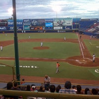 Photo taken at Estadio de Beisbol Eduardo Vasconcelos by Paco V V. on 7/5/2013