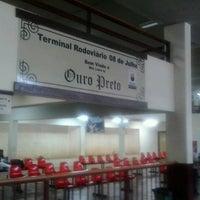 Photo taken at Terminal Rodoviário de Ouro Preto by Andre A. on 10/25/2012