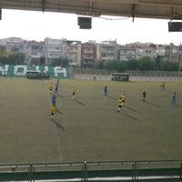 Photo taken at Bornova Stadı by Muamer V. on 10/27/2012