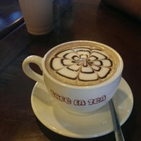 Photo taken at Cafe La Tea by Timothy M. on 10/9/2013