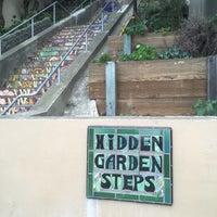 Photo taken at Hidden Garden Mosaic Steps by toisan on 6/4/2016