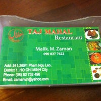 Photo taken at Pakistan Restaurant - Taj Mahal by Sol B. on 6/21/2014
