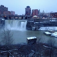 Photo taken at High Falls by Rob D. on 12/26/2012