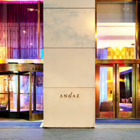 Photo taken at Andaz Wall Street by Milestone Internet Marketing on 2/15/2014
