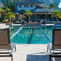 Photo taken at Calistoga Spa Hot Springs by Milestone Internet Marketing on 2/19/2014