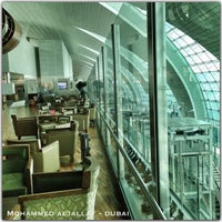 Photo taken at Emirates Business Class Lounge by Mohammed A. on 7/5/2013