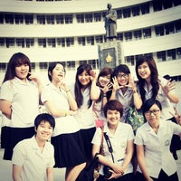 Photo taken at Faculty of Pharmacy by Thanthita P. on 2/17/2013