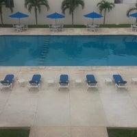 Photo taken at Hotel Bonampak by Cristina N. on 12/28/2014