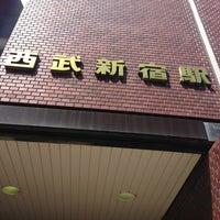 Photo taken at Seibu-Shinjuku Station (SS01) by さすらい on 4/29/2013