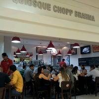 Photo taken at Quiosque Chopp Brahma (Tamboré) by Jean C. on 9/19/2012