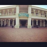 Photo taken at Masjid Baitussalam by Raksaka I. on 1/28/2013