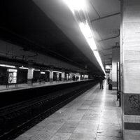 Photo taken at Roma Ostiense Railway Station (IRR) by Vampironellavigna on 1/13/2013