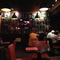 Photo taken at Indiana Café – Montparnasse by Konstantin L. on 5/8/2013