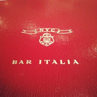Photo taken at Bar Italia by Wadha A. on 11/1/2012