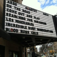 Photo taken at City Cinemas Village East by Ben N. on 3/23/2013
