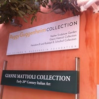 Photo taken at Collezione Peggy Guggenheim by martin p. on 4/20/2013