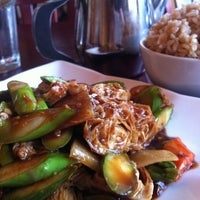 Photo taken at Garden Fresh Vegan Cuisine by Erica S. on 9/22/2012