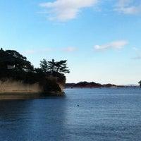 Photo taken at 松島湾遊覧船乗り場 by Solange Ayako K. on 1/1/2013