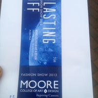 Photo taken at Moore College of Art & Design by Sweet R. on 5/18/2013