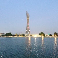Photo taken at Aspire Park by Mohammed A. on 12/15/2012