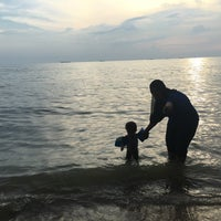Photo taken at Pantai Puteri by shapika a. on 9/15/2016