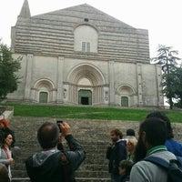Photo taken at Basilica di San Fortunato by Michael F. F. on 9/24/2015