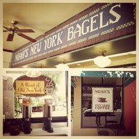 Photo taken at Noah's Bagels by thekhan . on 6/1/2013