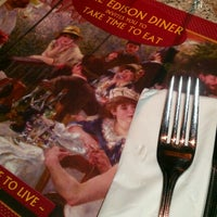Photo taken at Edison Diner by Krista C. on 11/30/2012