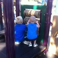 Photo taken at Burton Park by Ryan F. on 10/7/2012