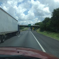 Photo taken at I 40 East by Jeanne E. on 7/7/2013