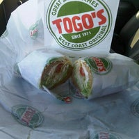Photo taken at TOGO'S Sandwiches by Heath D. on 10/30/2012