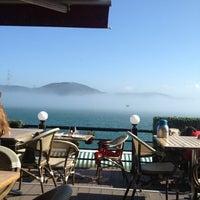 Photo taken at Göze Teras Cafe by Yasemin on 2/24/2013