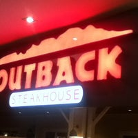 Photo taken at Outback Steakhouse by Bruno C. on 2/12/2013