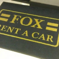 Photo taken at Fox Rent A Car Los Angeles / LAX by Garick C. on 12/17/2012